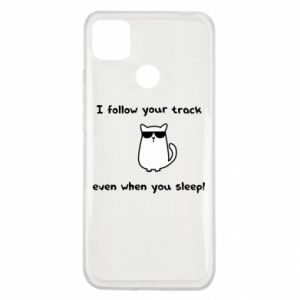 Xiaomi Redmi 9c Case I follow your track even when you sleep!