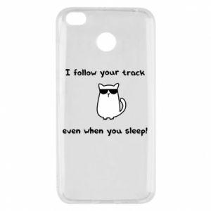 Xiaomi Redmi 4X Case I follow your track even when you sleep!