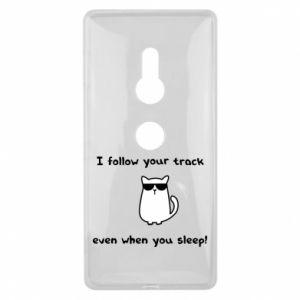 Sony Xperia XZ2 Case I follow your track even when you sleep!