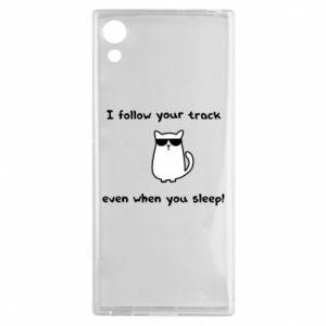 Sony Xperia XA1 Case I follow your track even when you sleep!