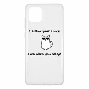 Samsung Note 10 Lite Case I follow your track even when you sleep!