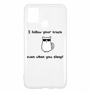 Samsung M31 Case I follow your track even when you sleep!