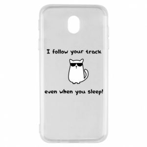 Samsung J7 2017 Case I follow your track even when you sleep!