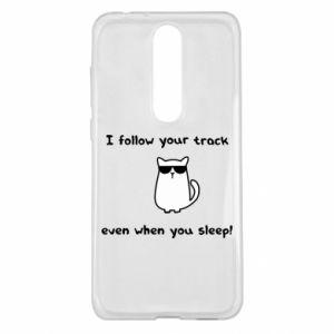 Nokia 5.1 Plus Case I follow your track even when you sleep!