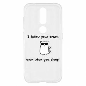 Nokia 4.2 Case I follow your track even when you sleep!