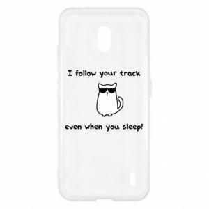 Nokia 2.2 Case I follow your track even when you sleep!