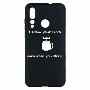 Huawei Nova 4 Case I follow your track even when you sleep!