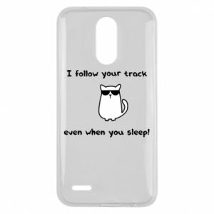 Lg K10 2017 Case I follow your track even when you sleep!