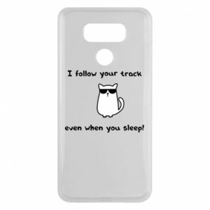 LG G6 Case I follow your track even when you sleep!