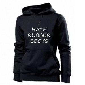 Bluza damska I hate rubber boots