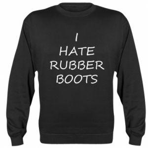 Bluza (raglan) I hate rubber boots