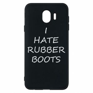 Etui na Samsung J4 I hate rubber boots