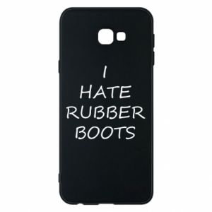 Etui na Samsung J4 Plus 2018 I hate rubber boots
