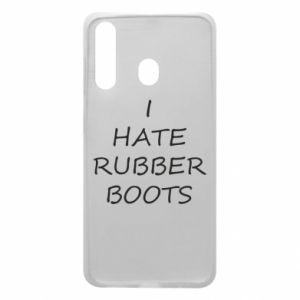 Etui na Samsung A60 I hate rubber boots