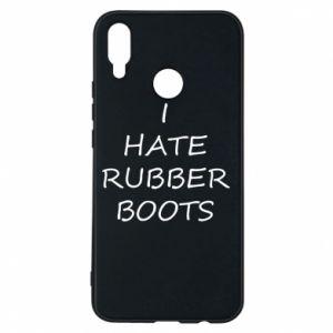 Etui na Huawei P Smart Plus I hate rubber boots