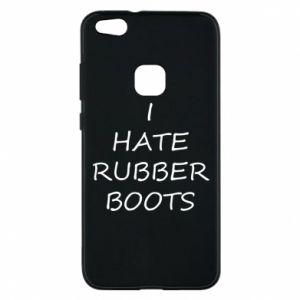 Etui na Huawei P10 Lite I hate rubber boots