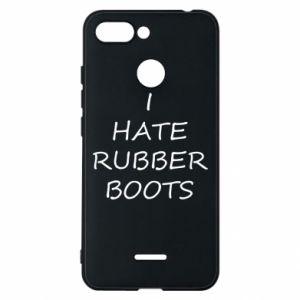 Etui na Xiaomi Redmi 6 I hate rubber boots