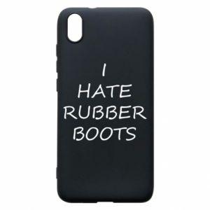 Etui na Xiaomi Redmi 7A I hate rubber boots
