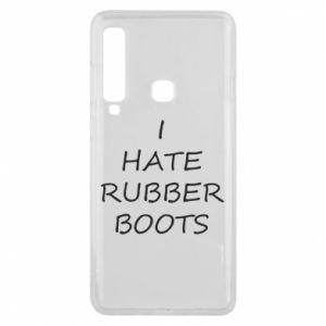 Etui na Samsung A9 2018 I hate rubber boots