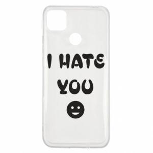 Xiaomi Redmi 9c Case I hate you