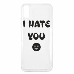 Xiaomi Redmi 9a Case I hate you