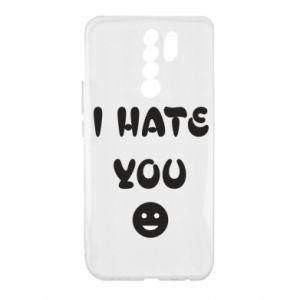 Xiaomi Redmi 9 Case I hate you