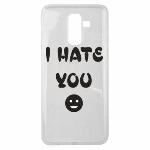 Samsung J8 2018 Case I hate you