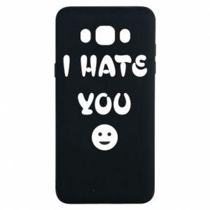 Samsung J7 2016 Case I hate you