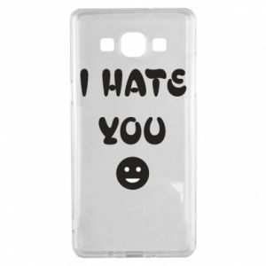 Samsung A5 2015 Case I hate you