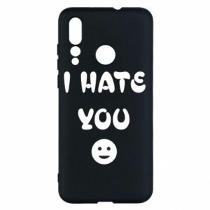 Huawei Nova 4 Case I hate you