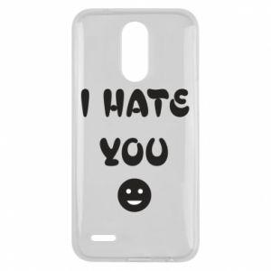Lg K10 2017 Case I hate you