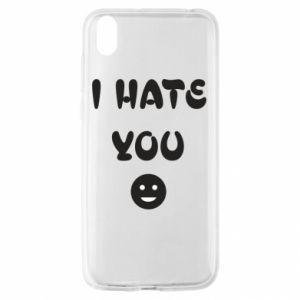 Huawei Y5 2019 Case I hate you