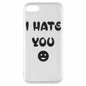 iPhone SE 2020 Case I hate you