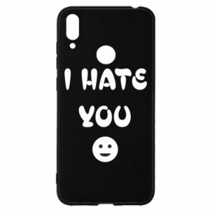 Huawei Y7 2019 Case I hate you