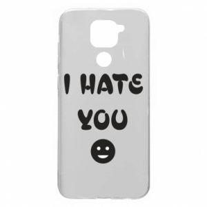Xiaomi Redmi Note 9 / Redmi 10X case % print% I hate you