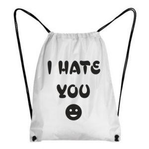Backpack-bag I hate you