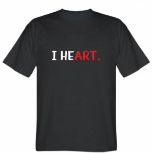 T-shirt I heart