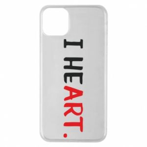 iPhone 11 Pro Max Case I heart