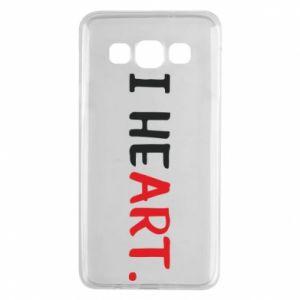 Samsung A3 2015 Case I heart