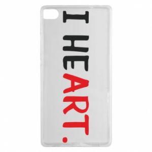 Huawei P8 Case I heart