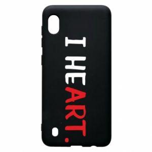 Samsung A10 Case I heart