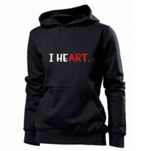 Women's hoodies I heart