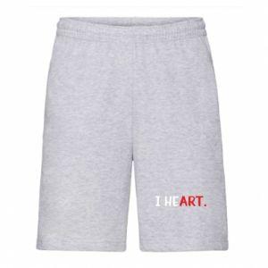 Men's shorts I heart