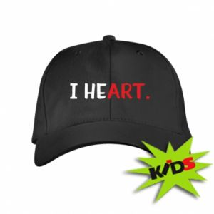 Kids' cap I heart
