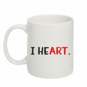 Mug 330ml I heart