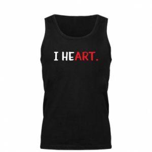 Męska koszulka I heart