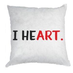 Pillow I heart