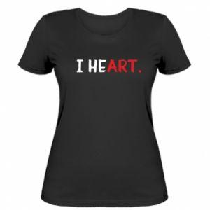 Women's t-shirt I heart