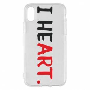 iPhone X/Xs Case I heart