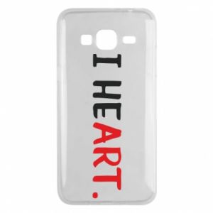 Samsung J3 2016 Case I heart